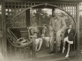 Group including Lady Olwen Carey-Evans (née Lloyd George) and David Lloyd George, by Daily Express - NPG x38848