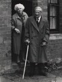 Gwendolen (née Gardner), Lady Moberly; Sir Walter Hamilton Moberly, by Selby Whittingham - NPG x21363