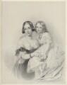 Princess Adelheid of Hohenlohe-Langenburg, by Richard James Lane, after  Sir George Hayter - NPG D22134