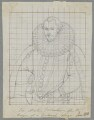 Sir Martin Frobisher, by Henry Bone, after  Unknown artist - NPG D17156