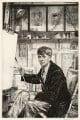 Charles Cundall, by Francis Dodd - NPG D17836