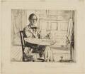 Randolph Schwabe, by Francis Dodd - NPG D17834