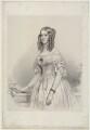 Princess Victoria of Saxe-Coburg and Gotha, Duchess de Nemours, by Richard James Lane, after  Franz Xaver Winterhalter - NPG D22148