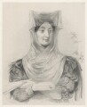 Mrs East ('A Greek lady'), by Richard James Lane, after  Sir George Hayter - NPG D22162