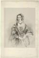 Emma Sophia (née Edgecumbe), Countess Brownlow, by Richard James Lane, printed by  M & N Hanhart, after  James Rannie Swinton - NPG D22180