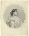 Helen Faucit (Helena (née Faucit Saville), Lady Martin), Sir Frederick William Burton, by Richard James Lane, after  Sir Frederic William Burton - NPG D22213