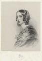 Lady Elizabeth Dorothy Anne Georgiana Grey (née Howard), by Richard James Lane, printed by  M & N Hanhart, after  George Dodgson Tomlinson - NPG D22220