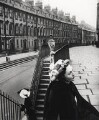 Anne Chambers (Owena Anne Chambers (née Newton)) ('Spring Hats in Bath'), by Norman Parkinson - NPG x126952