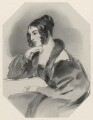 Corisande Emma Harris (née Bennet), Countess of Malmesbury, by Richard James Lane, after  Sir Edwin Henry Landseer - NPG D22254