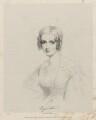 Augusta Champagne Law (née Graves), by Richard James Lane, printed by  M & N Hanhart, after  Joseph Slater - NPG D22344