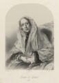 Georgiana Dorothy (née Cavendish), Countess of Carlisle, by Richard James Lane, printed by  M & N Hanhart, after  Frederick A.C. Tilt - NPG D22356