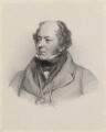 Sir Josiah John Guest, 1st Bt, by Richard James Lane, after  Jacob Thompson - NPG D22387