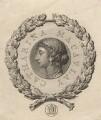 Catharine Macaulay (née Sawbridge), by James Basire, after  Giovanni Battista Cipriani - NPG D17066