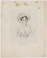 Lucy Anderson (née Philpot), by Richard James Lane, published by  Joseph Dickinson, after  Johannes Notz - NPG D16194