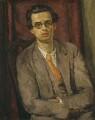 Aldous Huxley, by Vanessa Bell (née Stephen) - NPG 6717