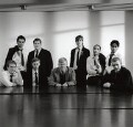 Alan Bennett and the cast of 'The History Boys', by Derry Moore, 12th Earl of Drogheda - NPG x126978