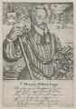 Sir Humphrey Gilbert, by Robert Boissard - NPG D20541