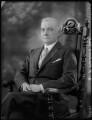 Sir Frederick William Francis George Frankland, 10th Bt, by Bassano Ltd - NPG x36587