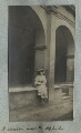 Lady Ottoline Morrell ('A cloister near the Hofkirche'), by Philip Edward Morrell - NPG Ax140009