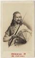 King Téwodros (Theodore) II of Abyssinia, by Neurdein - NPG x127029