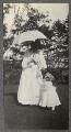 Lady Ottoline Morrell; Julian Vinogradoff (née Morrell), by Philip Edward Morrell - NPG Ax140086