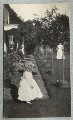Julian Vinogradoff (née Morrell); Nurse Nina, by Lady Ottoline Morrell - NPG Ax140088