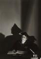 Lilian Mary Baylis, by Gordon Anthony - NPG x44755