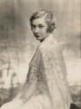 Louise Browne, by Janet Jevons - NPG x127054