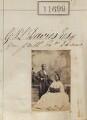 James Pinson Labulo Davies; Sarah Forbes Bonetta (Sarah Davies), by Camille Silvy - NPG Ax61382