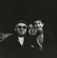 George Devine as Hamm; Jack MacGowran as Clov in 'Endgame', by Ida Kar - NPG x127140