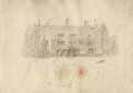 Leckhampton House and garden, Cambridge, by Silvia Constance Myers - NPG Ax68503