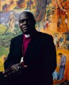 John Sentamu, by Sal Idriss - NPG x127164