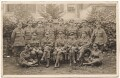 John Nash and fourteen soldiers, by Unknown photographer - NPG x127172