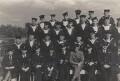 John Nash and twenty-nine Royal Marines, by Unknown photographer - NPG x127174