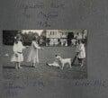 Catherine Emma Eastwood (née Peel); Julian Vinogradoff (née Morrell); Anne Peel; John Frederic Roger Peel, by Lady Ottoline Morrell - NPG Ax140294
