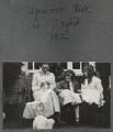 Billy Townshend, Julian Vinogradoff (née Morrell); Catherine Emma Eastwood (née Peel), by Lady Ottoline Morrell - NPG Ax140295