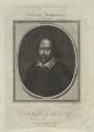 William Shakespeare, by John Goldar, probably after  John Taylor - NPG D20572