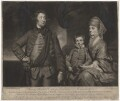 Henry Herbert, 10th Earl of Pembroke and family, by James Watson, after  Sir Joshua Reynolds - NPG D3843