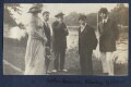 Lady Ottoline Morrell; Sydney Spencer; William Spencer; Sir Stanley Spencer; Gilbert Spencer, by Philip Edward Morrell - NPG Ax140481