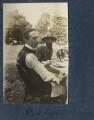 Philip Edward Morrell; Lytton Strachey, by Lady Ottoline Morrell - NPG Ax140611