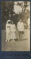 Lady Ottoline Morrell; Dorothy Brett; Siegfried Sassoon, by Lady Ottoline Morrell - NPG Ax140647