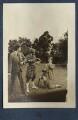 Mark Gertler; Dorothy Brett; Aldous Huxley, by Lady Ottoline Morrell - NPG Ax140688