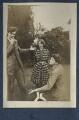 Aldous Huxley; Dorothy Brett; Mark Gertler, by Lady Ottoline Morrell - NPG Ax140690