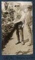 Tim Husdon; Reuben Yeats, by Lady Ottoline Morrell - NPG Ax140697