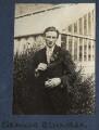 Edmund Blunden, by Lady Ottoline Morrell - NPG Ax140771