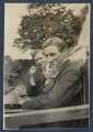 Edward George Downing Liveing; Edmund Blunden, by Lady Ottoline Morrell - NPG Ax140777