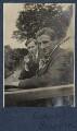 Edward George Downing Liveing; Edmund Blunden, by Lady Ottoline Morrell - NPG Ax140778
