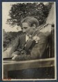 Edward George Downing Liveing; Edmund Blunden, by Lady Ottoline Morrell - NPG Ax140779