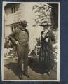 Augustine Birrell; Frances Jane Horner (née Graham), Lady Horner, by Lady Ottoline Morrell - NPG Ax140824