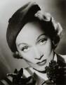 Marlene Dietrich, by Cornel Lucas - NPG x127224